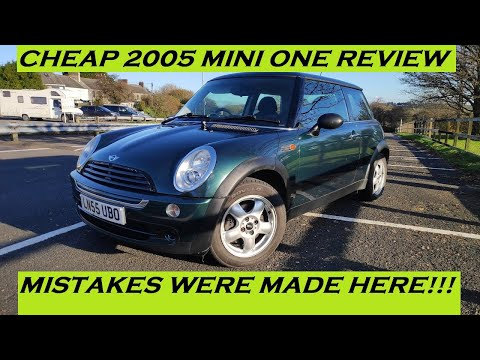 2005 MINI ONE 1.6 PETROL REVIEW AND THOUGHTS