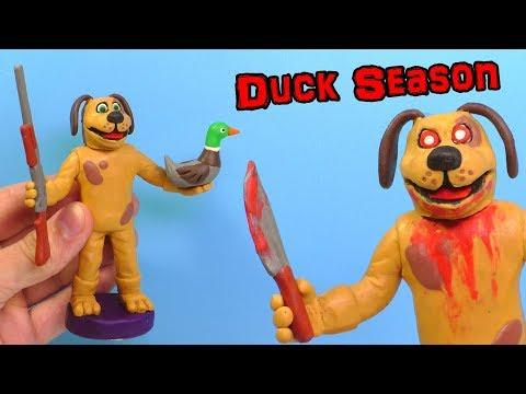 Ліпимо Собаку з гри Duck Season | Відео Ліплення