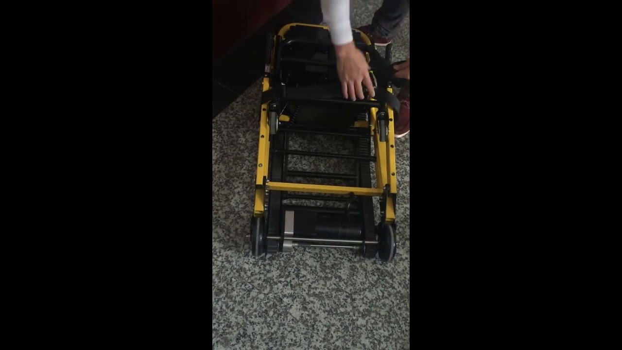 Stair Electric Chair dw-st003a electric stair climbing chair from dragon industry - youtube