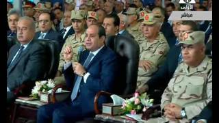 فيديو.. وزير الإسكان يقدم كشف حساب عامين ونصف العام بحضور السيسي