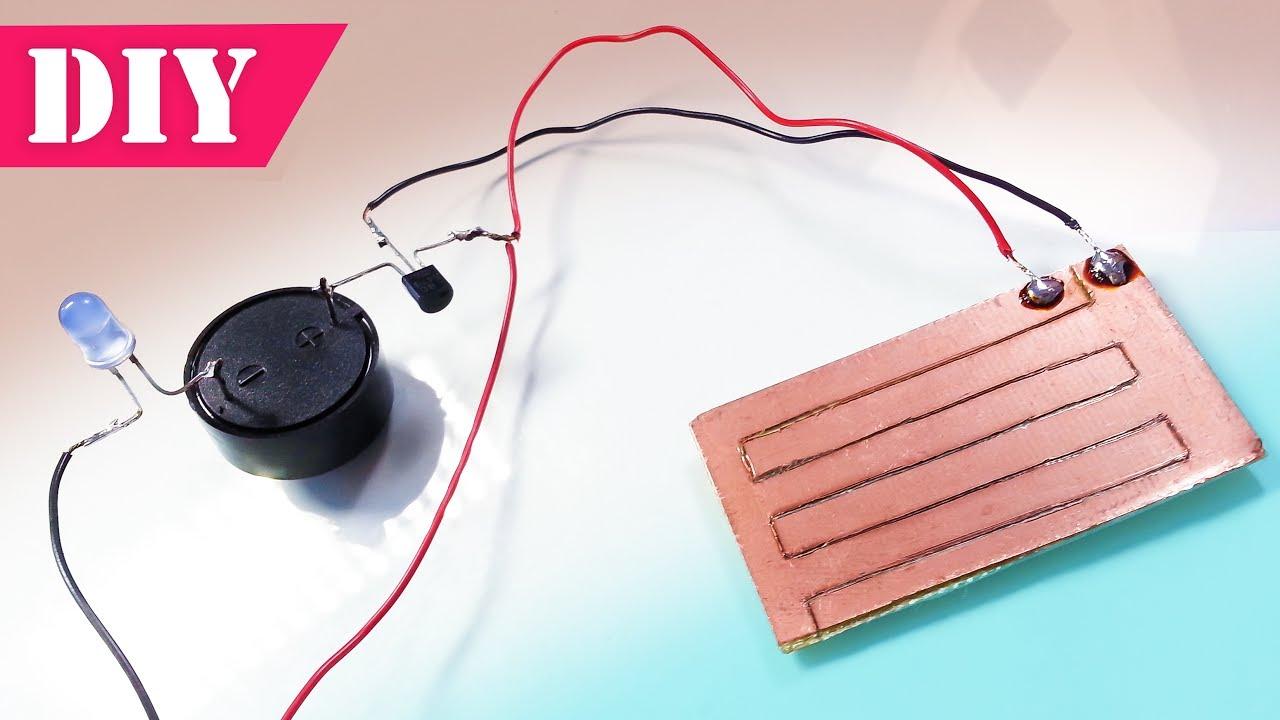 Rain Detector - Can Sense Rain Drops | How to Make a Rain Alarm at Home