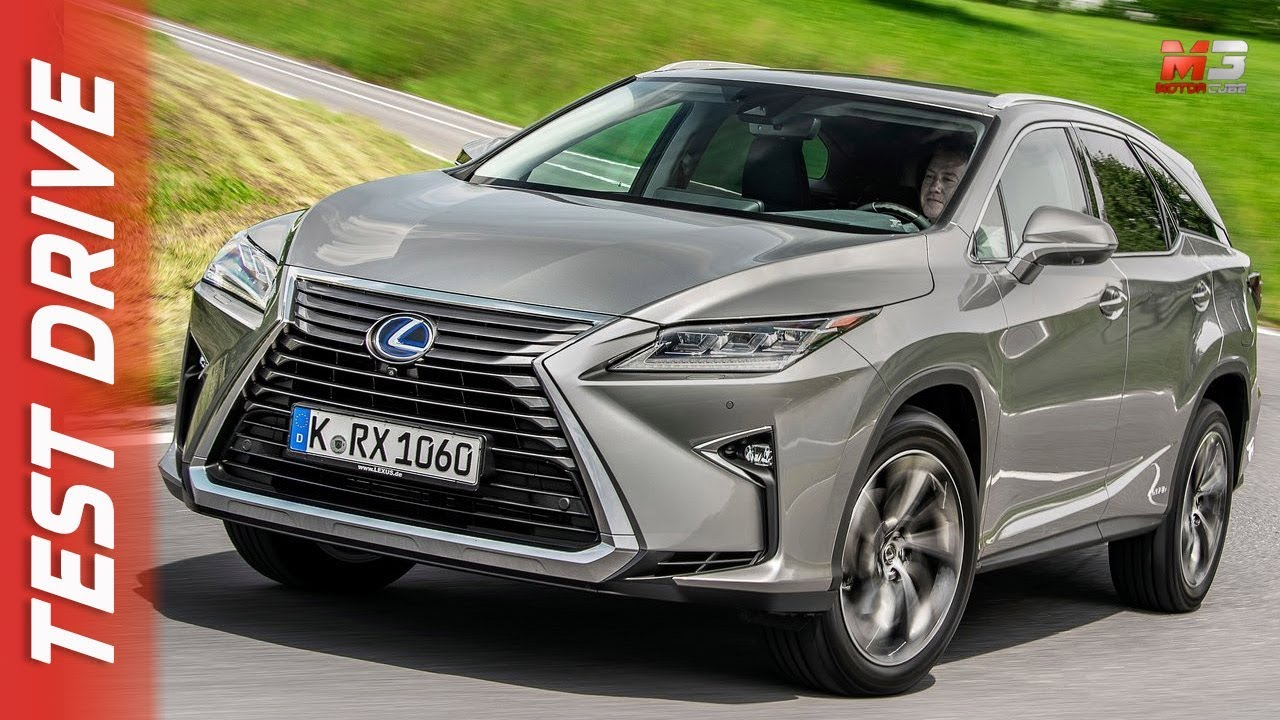 New Lexus Rx 450 Hl 2018 First Test Drive
