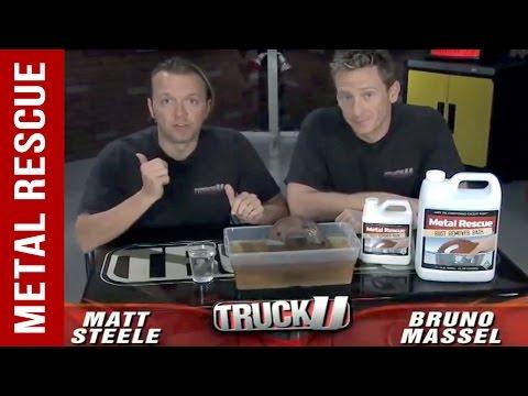 Learn How To Clean Rust Off Metal: Truck U