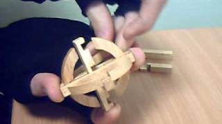 solve the hard and dangerous wooden ball