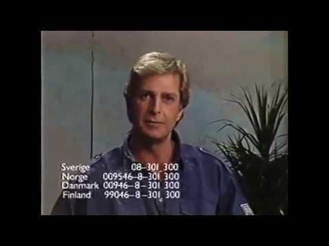 TV Köp med Ulf Brunnberg i TV Scandinavia - 1988