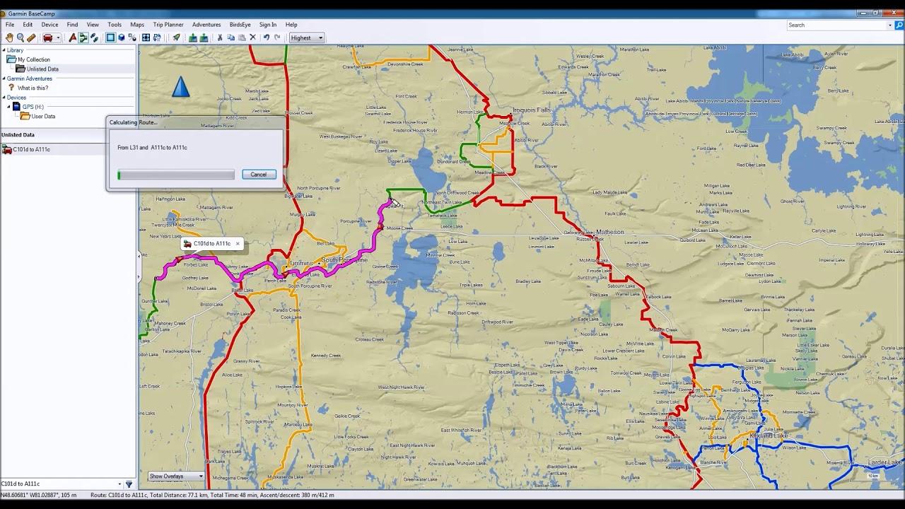 Snowmobile Newfoundland for Garmin GPS units