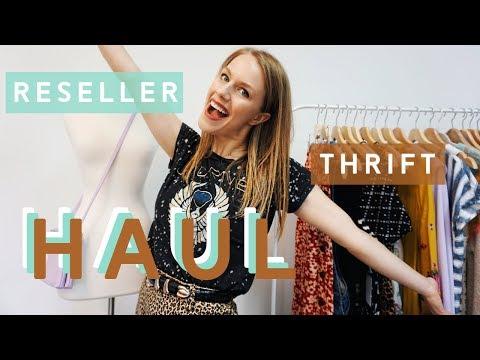 Reseller Thrift Haul  - September 2019