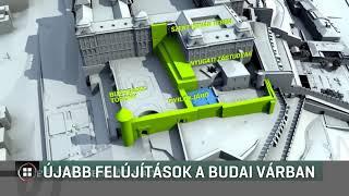 Újabb épületszárnyat újíttat fel a budai Várban a kormány 19-07-24