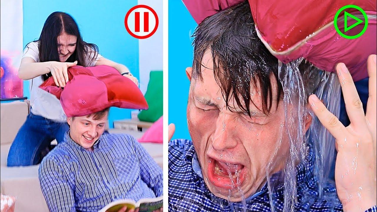 14 Eğlenceli Şaka / Şaka Savaşları!
