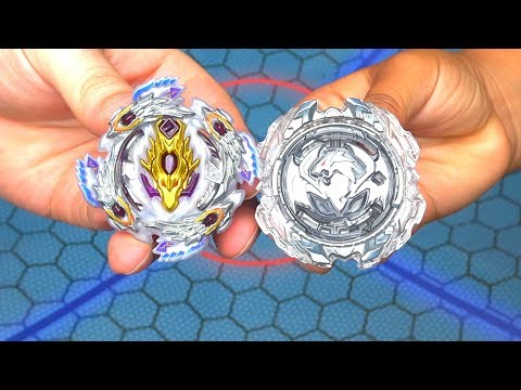 REVIVE PHOENIX vs BLOODY LONGINUS | REAL LIFE ANIME STADIUM Beyblade Burst Turbo Super Z