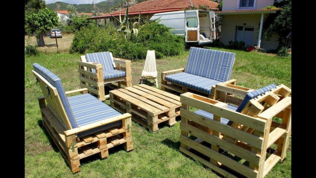 Wood Pallets Garden Ideas Recycling Decoration  BestMedia TV