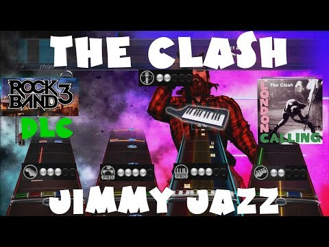 (+Keys) The Clash - Jimmy Jazz - Rock Band 3 DLC Expert Full Band (February 1st, 2011)
