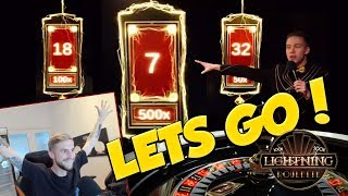 BIG WIN!!! Lightning roulette Huge Win - Evolution gaming (table games)
