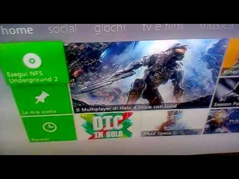 Errore Need For Speed Underground 2 Su Xbox 360 Youtube