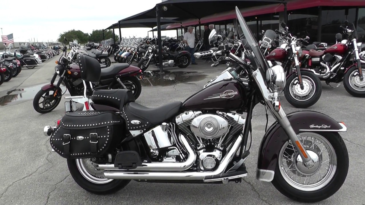 2005 Harley Davidson >> 025991 2005 Harley Davidson Heritage Softail Classic Flstc Used Motorcycles For Sale
