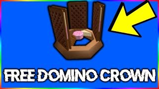 NEW ROBLOX ICE CREAM DOMINO CROWN! *HOW TO GET*