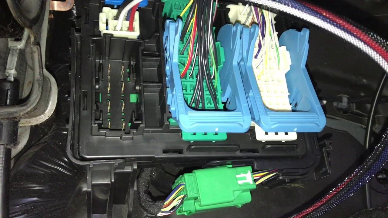 2013 silverado trailer brake wiring diagram brake controller install on 2014 silverado youtube  brake controller install on 2014