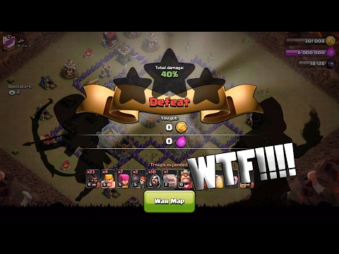 Clash Of Clans | THE WORST WAR ATTACK EVER