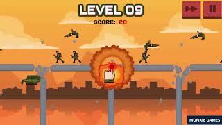 Bomb The Bridge Game Walkthrough
