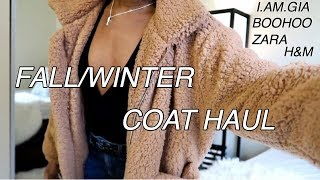 BEST FALL/WINTER COATS 2019 | TRY-ON COLLECTION (I.AM.GIA, ZARA, MISSGUIDED, PLT, H&M BOOHOO, ZAFUL)