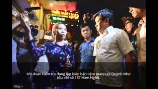 [ XEMTUBE ]  Chủ tiệm massage tranh luận với Đoàn Ngọc Hải việc chính quyền không nhắc nhở sai phạm.