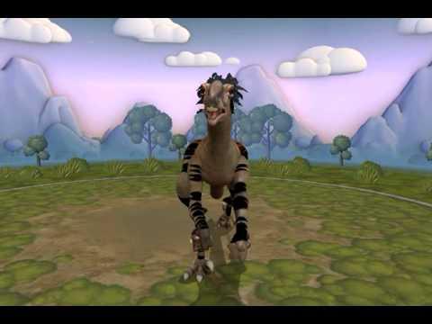 Spore - Velociraptor osmalskae
