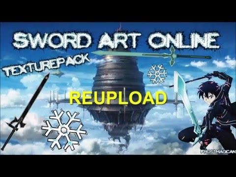 Sword Art Online~PvP~Pack Texturepack [Minecraft]