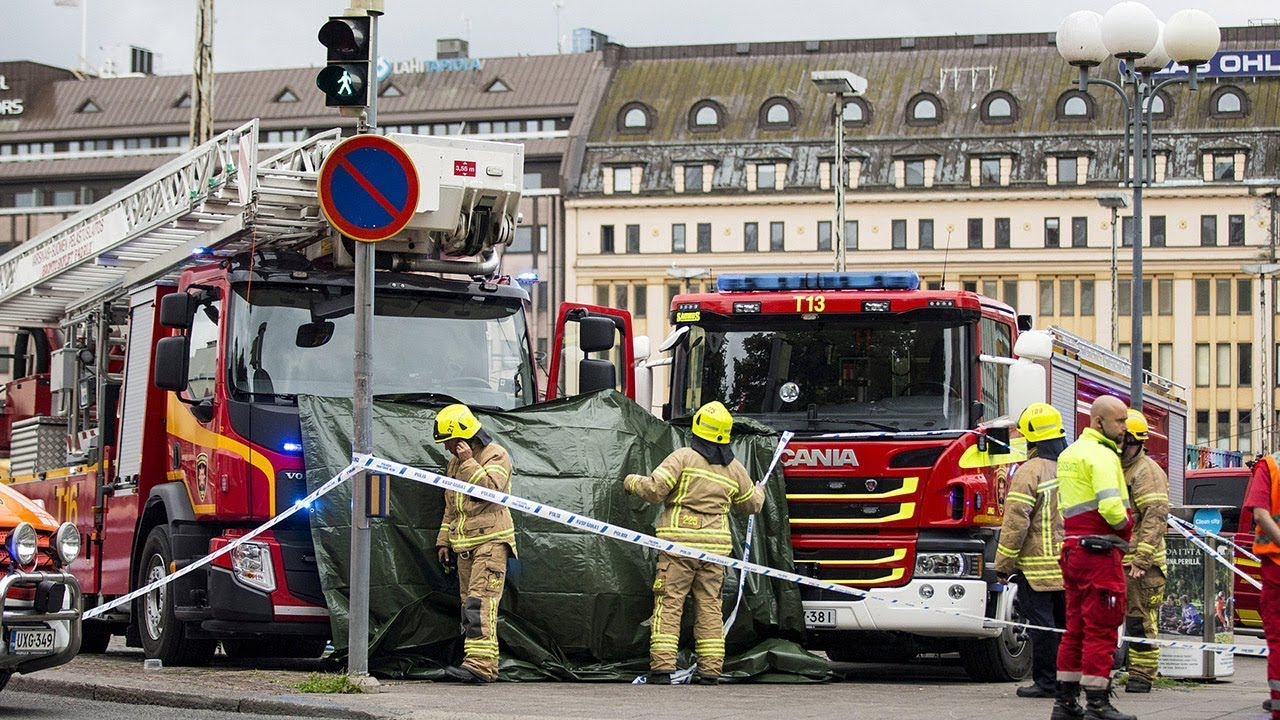 """Finland stabbing attack was """"a likely terror act,"""" officials say"""