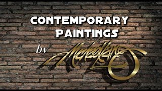 Modern Contemporary Paintings Art by Michael Lang Gallery #2