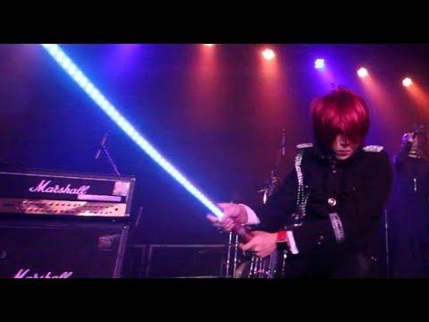 日本光劍表演@ 梵姫Vrank 2014 (industrial Gothic) 蠍子王 LED Katana visual performance