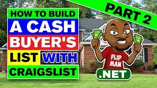 How to build a cash buyers list using direct mail videos