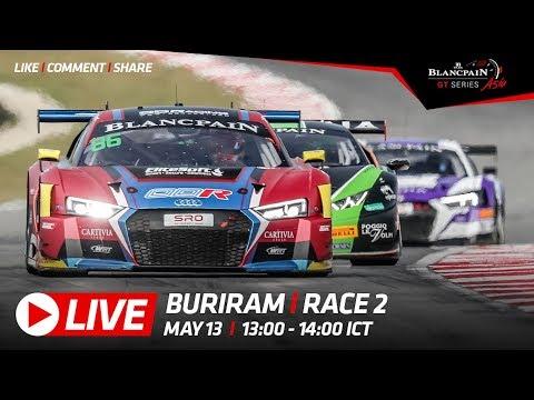 Race 2 - Buriram 2018 - Blancpain GT Series Asia