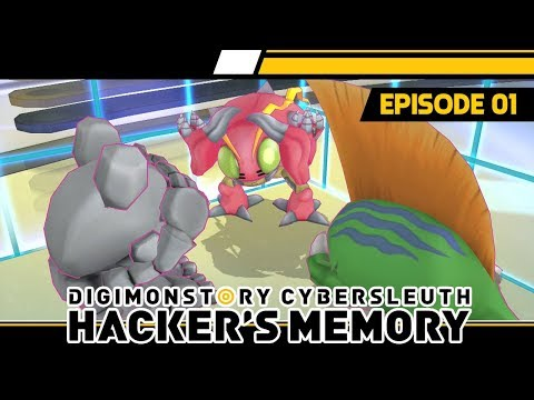 Digimon Story : Cyber Sleuth Hacker's Memory PS4 - Ep 1 - Chapter 01: Back-Alley Hackers (English)