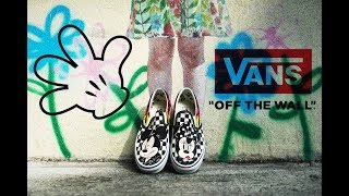 VANS X MICKEY MOUSE 2018 COLLECTION GUIDE
