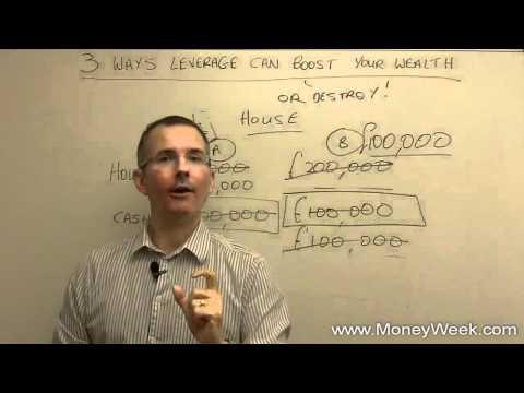 Three ways leverage can boost your returns - MoneyWeek investment tutorial Mp3