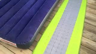 Air Mattress vs Camping Mat