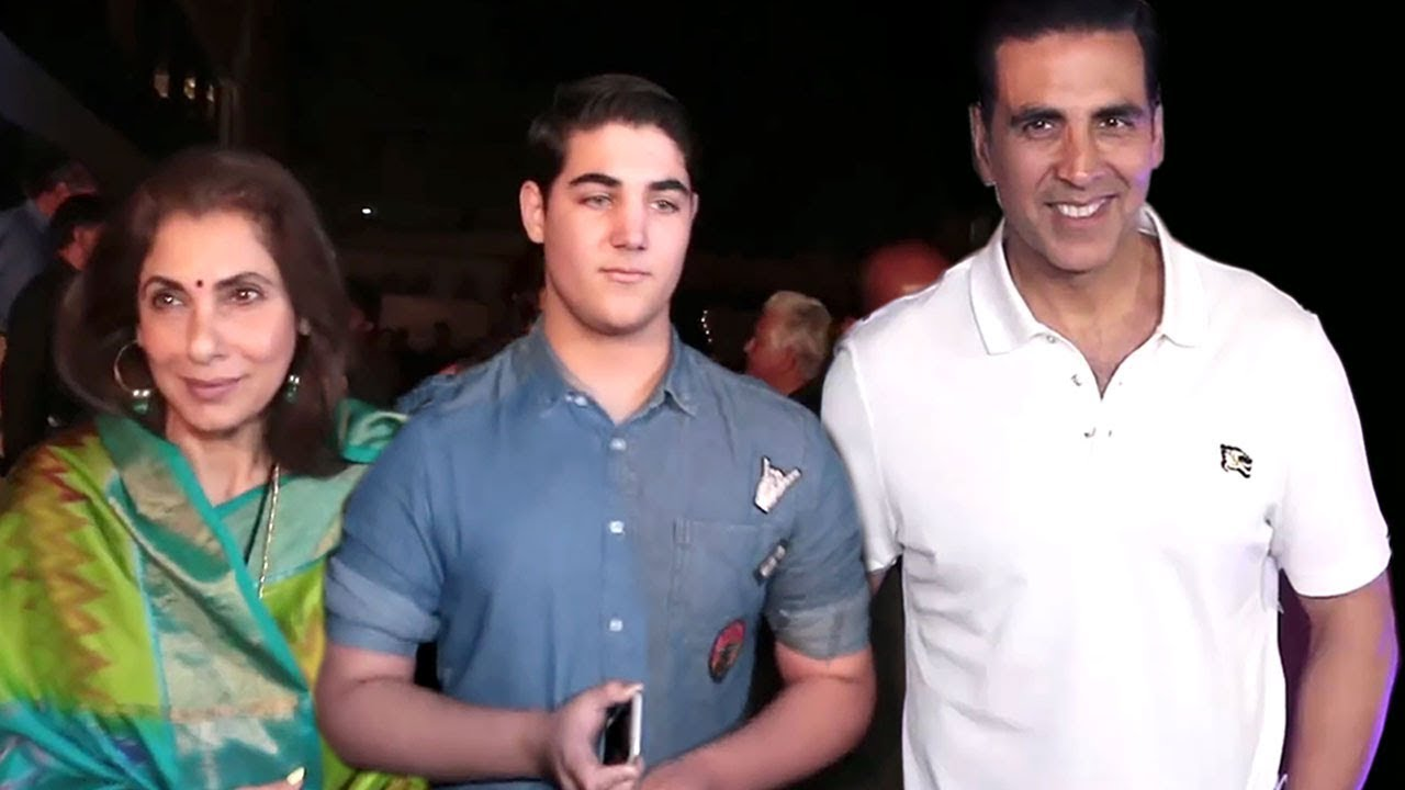 Akshay Kumar With His HANDSOME Son Aarav Kumar - YouTube