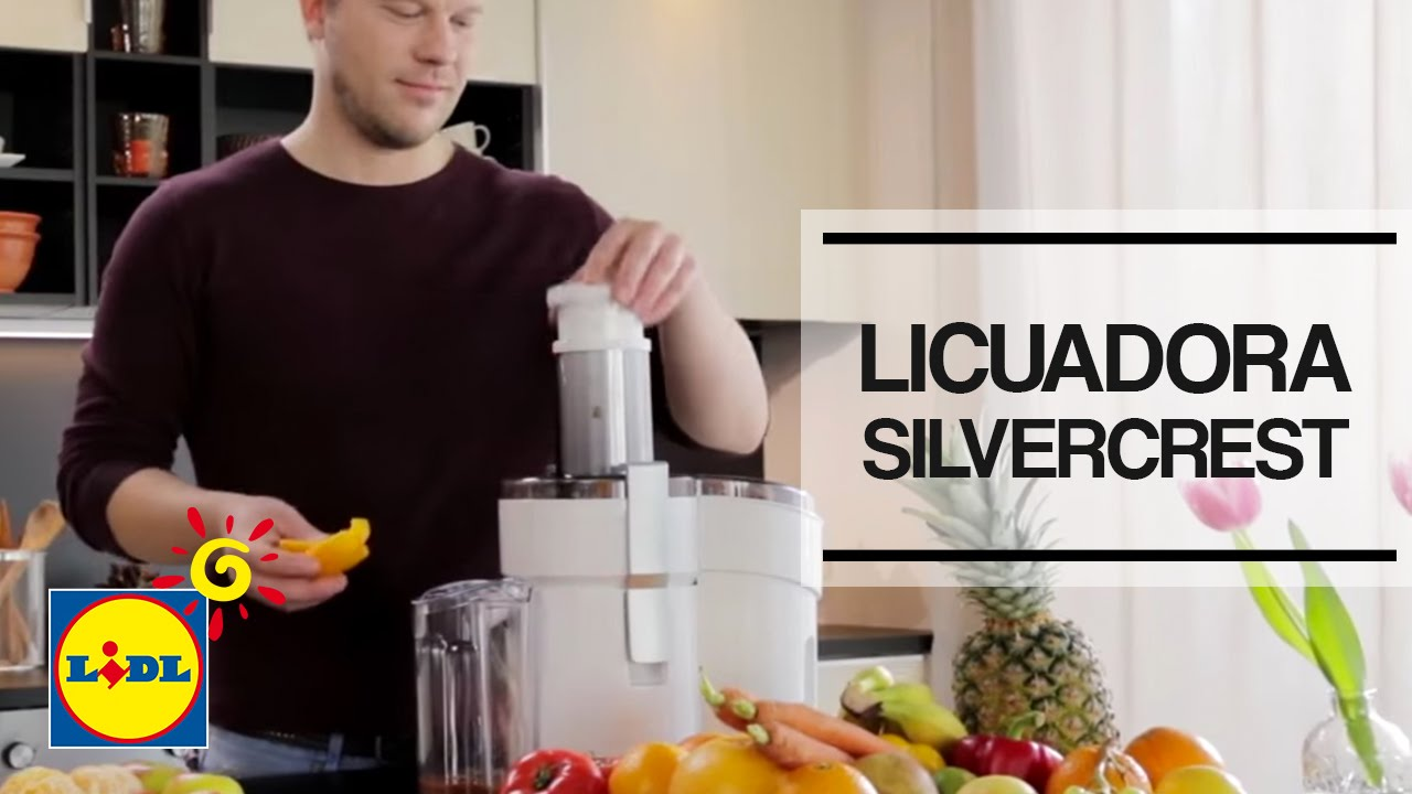 Licuadora Slow Juicer Lidl : Licuadora SilverCrest - Lidl Espana - YouTube