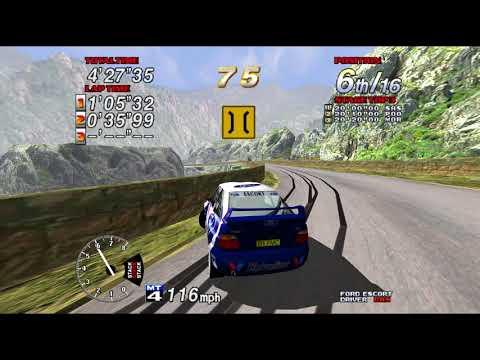 Sega Rally 2 - GRAND PRIX Championship Victory - Ford Escort (4k 60fps)