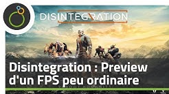 Disintegration : Preview du FPS par le co-créateur d'Halo !