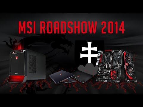 MSI Gaming Roadshow 2014 Slovensko - UKF Nitra, STU Bratislava, UNIZA Žilina [Oficiální reportáž]