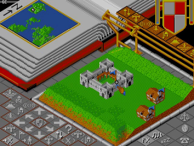 Jouez à Populous sur Commodore Amiga grâce à nos Bartops Arcade et Consoles Retrogaming