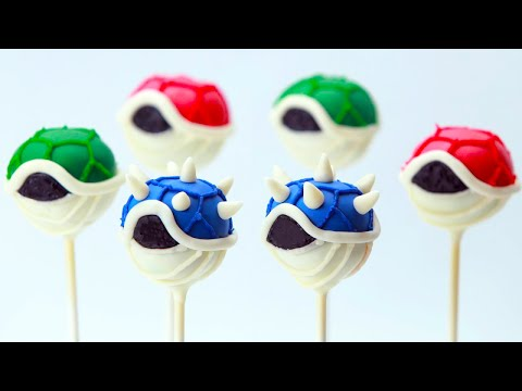 Save MARIO KART 8 KOOPA SHELL CAKE POPS - NERDY NUMMIES Pictures