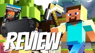Minecraft Playstation Vita Edition REVIEW (PS VITA) HD Gameplay