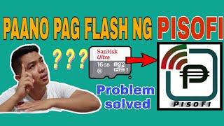 How to flash pisofi image
