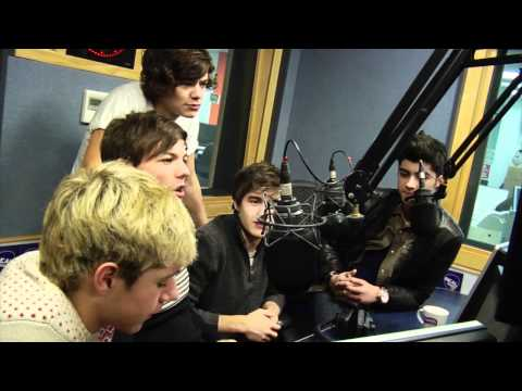 One Direction interview at Real Radio (January 12th)
