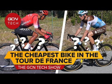 What&39;s The Cheapest Bike In The Tour De France?   GCN Tech Show Ep.141