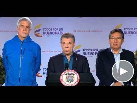 Presidente Juan Manuel Santos al término del Consejo de Seguridad - 18 de junio de 2017