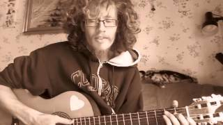 Barndommens Gade - Anne Linnet (danish acoustic cover by Patrick V. Bentsen in sepia)