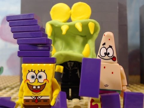 lego spongebob chocolate with nuts